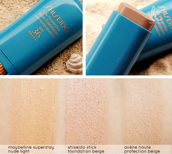 Shiseido Protective Foundation Stick SPF36