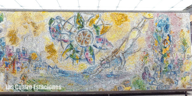 Quatre Saisons, Chagall, Chicago, elisaorigami, travel, blogger, voyages, lifestyle