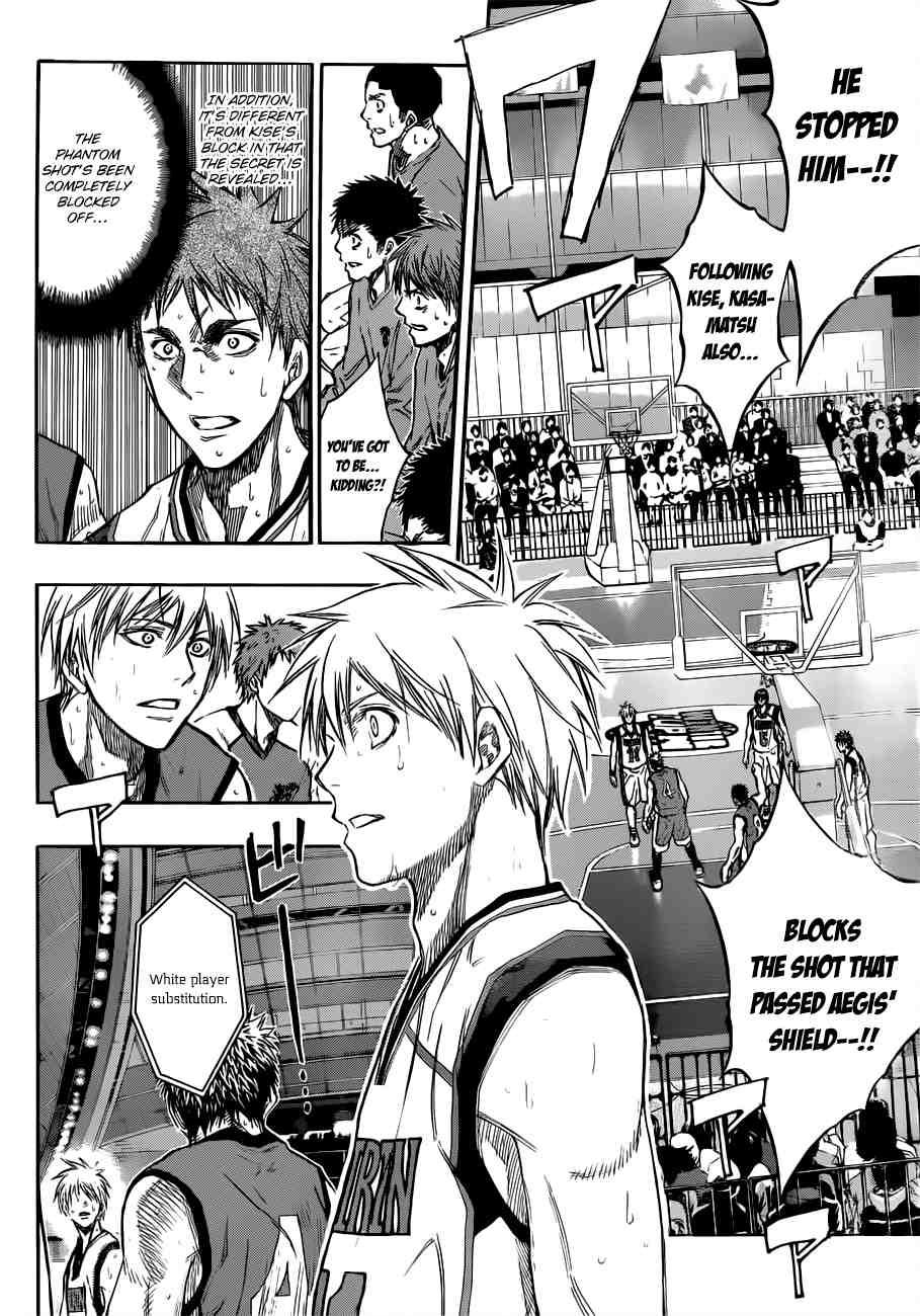 Kuroko no Basket Manga Chapter 191 - Image 14
