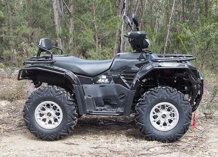 700cc 4x4 Linhai Yamaha Farm Quad Bike ATV Black