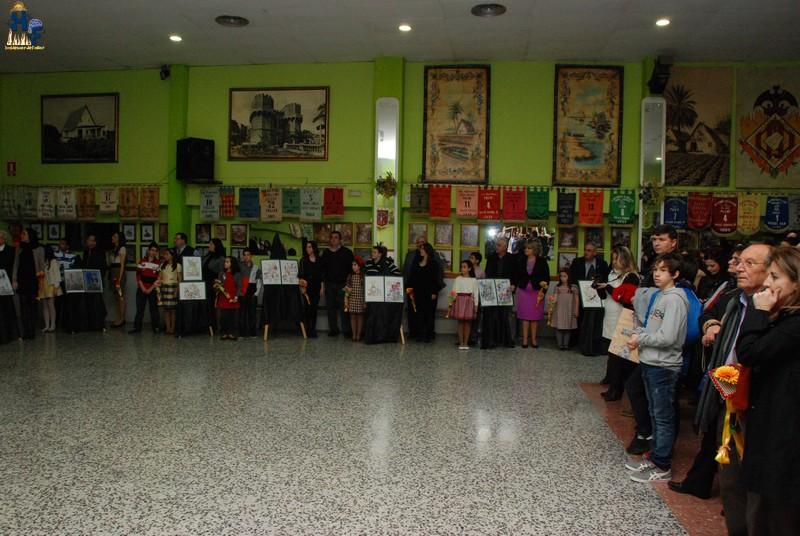 La agrupación de Fallas Olivereta presentó sus Bocetos 2012