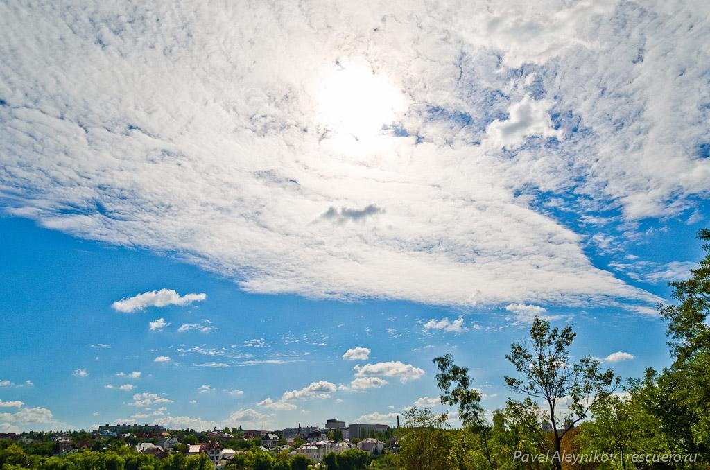 Samyang 14mm, небо и солнце