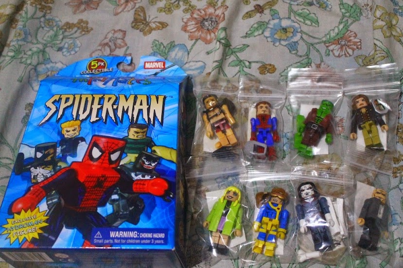 spider-man marvel minimates