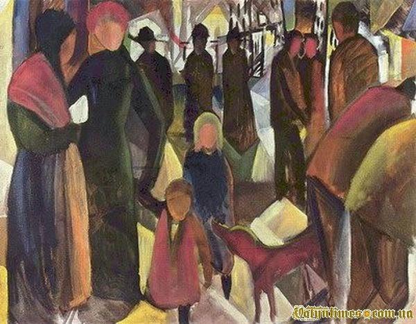 """Август Маке, """"Прощання"""", 1914"""