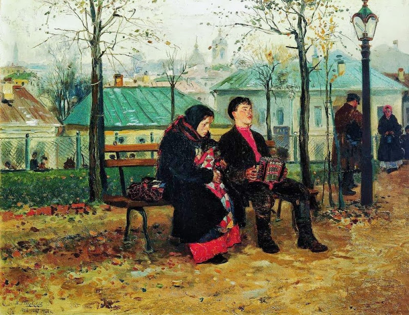 Vladimir Makovsky - On the Boulevard