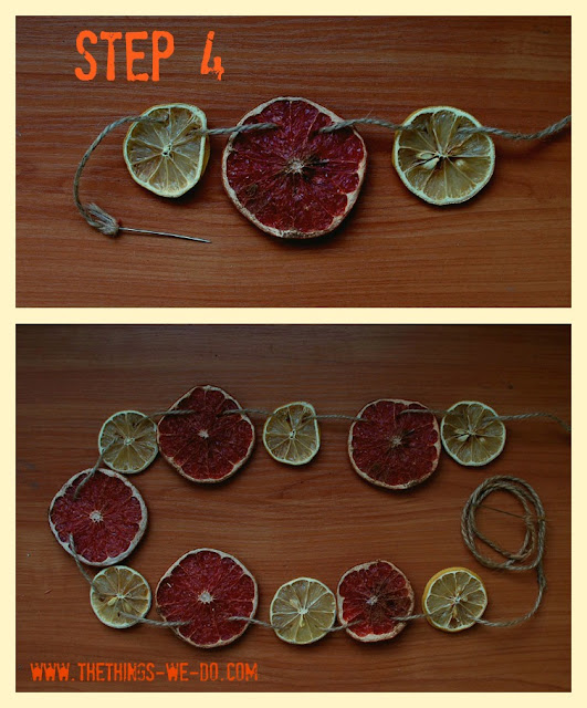 Christmas Citrus Garland_Step 4