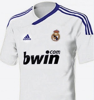 New Real Madrid home jersey for 2011-2012 season