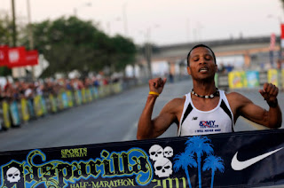 Gasparilla Half marathon results, list of winner in Gasparilla Half-marathon, Elias Gonzalez,Jessica Crate World Record, running Guinness world record, Top 20 men winner in Gasparilla Half marathon, Top 20 women winner in Gasparilla Half marathon