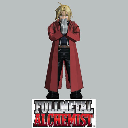 Full Metal Alchemist Edward Elric Papercraft