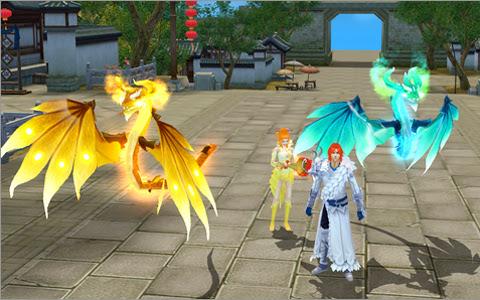 Oa Hoàng Long Mãng có mặt trong Thiên Long Bát Bộ 1