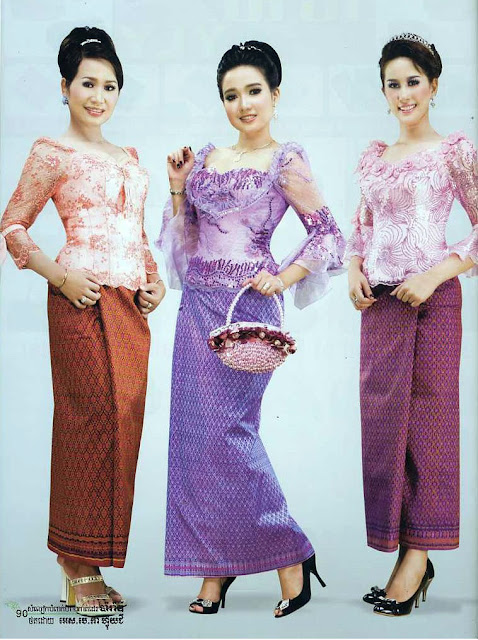 Dap News Khmer Clothes In Cambodia Cambodia Fashion Dress