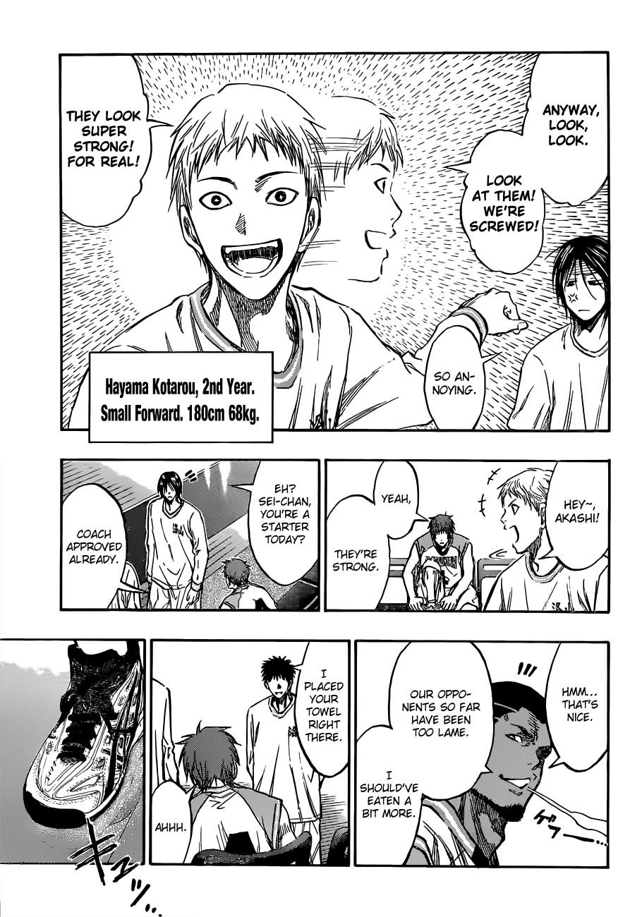 Kuroko no Basket Manga Chapter 175 - Image 09