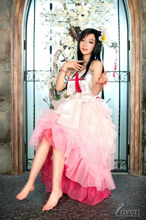 Miyuko hóa thân thành Nam So Yu trong Blade & Soul 1