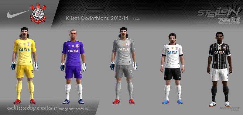 Corinthians Kitset 2013-14 - PES 2013