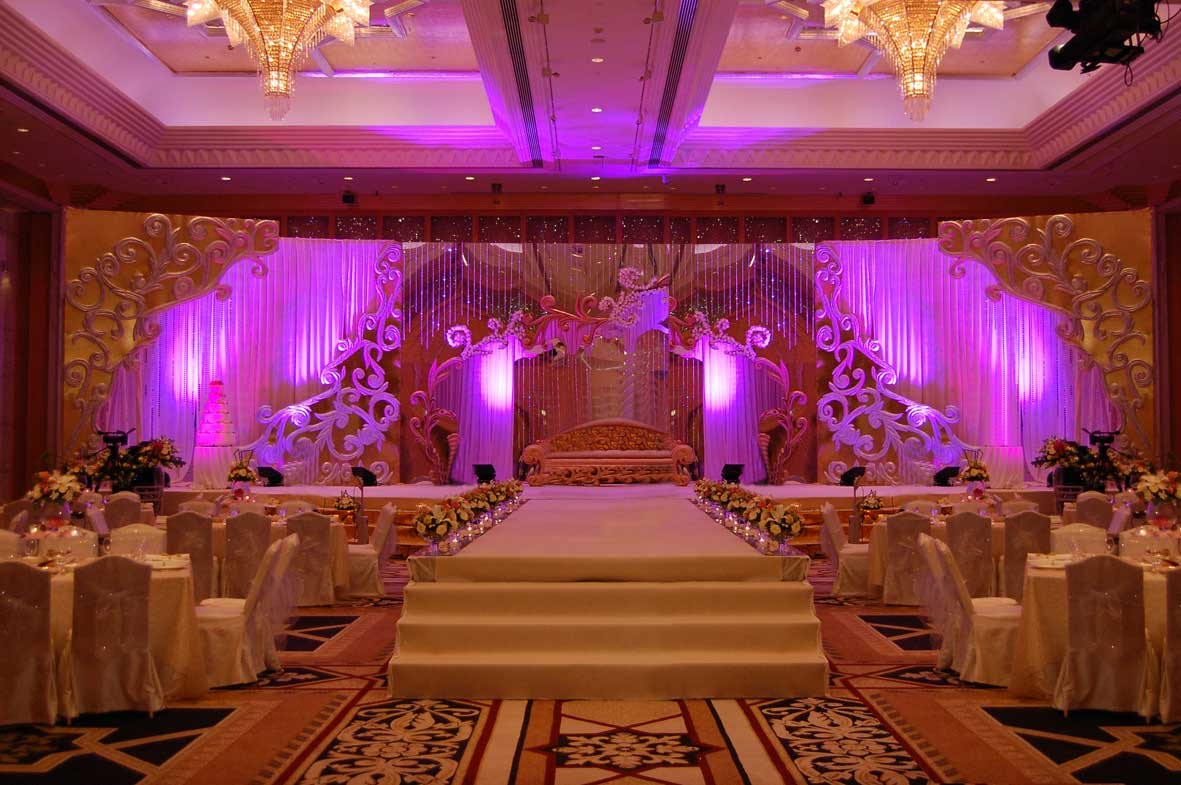 between you and me arabic wedding stage decoration