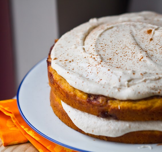 Cinnamon Bun Layer Cake Recipe
