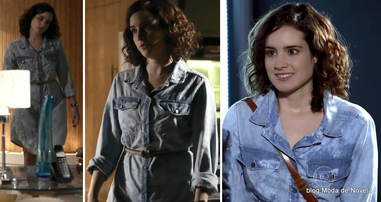 moda da novela G3RAÇ4O BR4S1L - look da Lara dia 5 de junho
