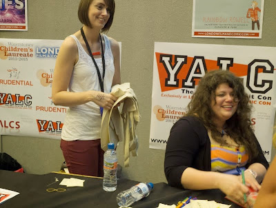 Rainbow Rowell signing at London YA Lit Con (YALC)
