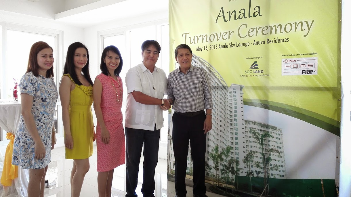 ANALA TOWER AT ANUVA RESIDENCES PARTNERSHIP WITH PLDT HOME FIBR.