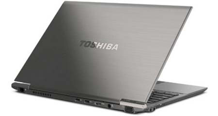 Toshiba Portege Z835 Ultrabook Review and Specifications