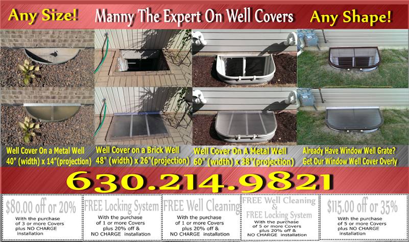 HandyManny Window Well Covers | Window well Cover Coupons Chicago ...
