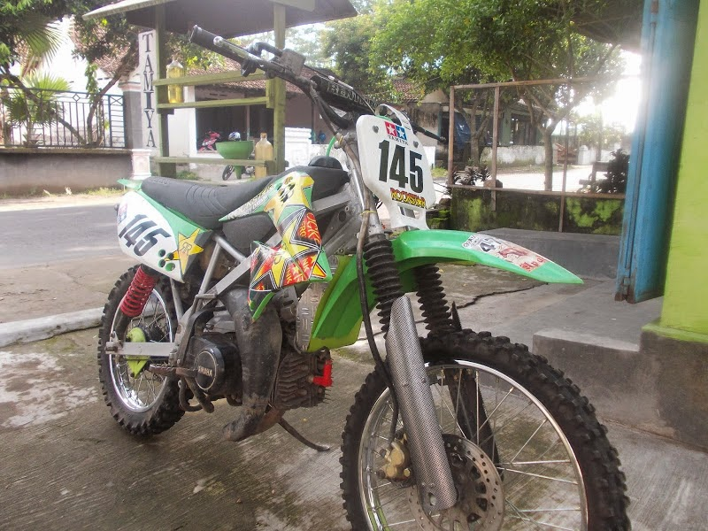 kumpulan modifikasi motor honda grand jadi trail