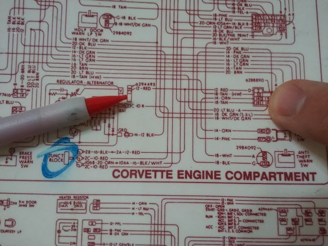 Si Alternator Wiring Question On 74 Corvetteforum Chevrolet Corvette Forum Discussion