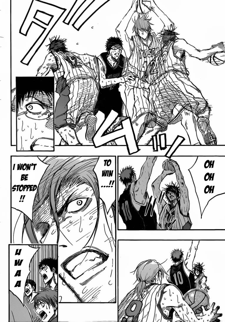 Kuroko no Basket Manga Chapter 168 - Image 04