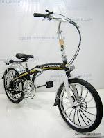 3 Sepeda Lipat FORWARD HIGH WIND 20 Inci