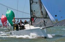 J/111 sailing San Francisco Bay
