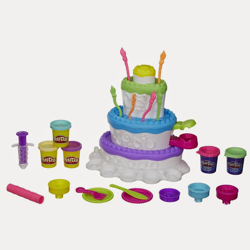 Hasbro Play-Doh Cake Mountain Playset