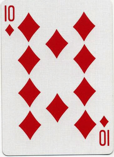 Ten Of Diamonds Luck Spell