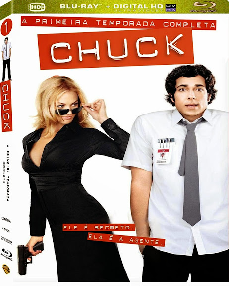 Chuck 1ª Temporada (2007) BDRip BluRay 720p Torrent Dublado