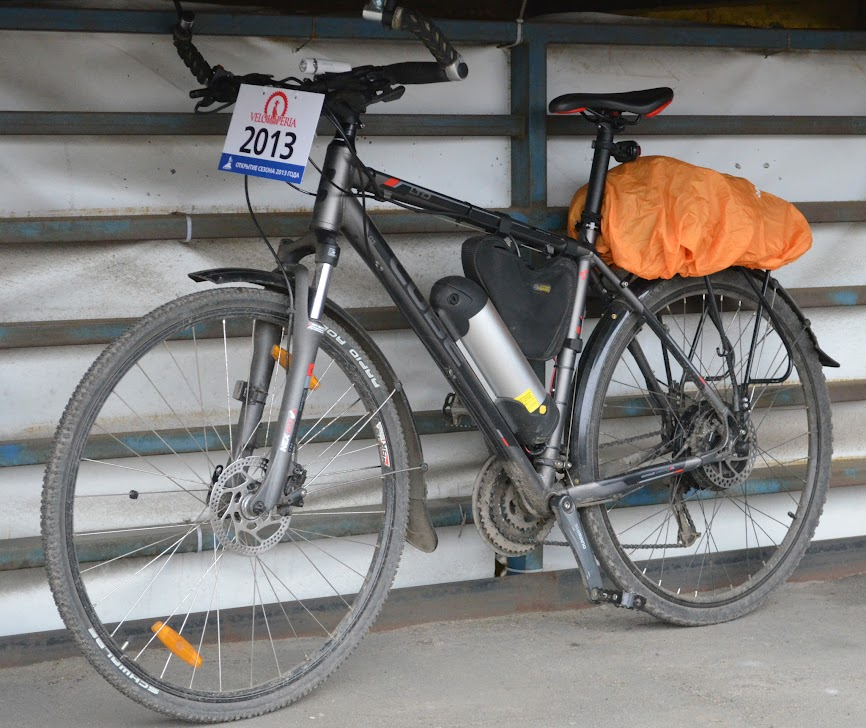 Электровелосипед на базе гибрида CUBE