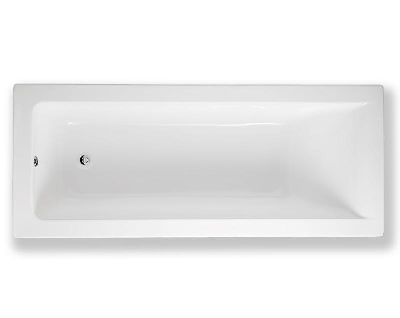 Vasca da bagno da incasso 170 x 70 in metacrilato rak metropolitan ebay - Vasca da bagno 170 x 70 prezzi ...