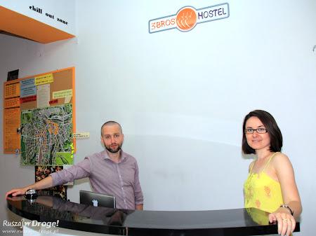 3Bros hostel Cieszyn - Kasia i Kornel