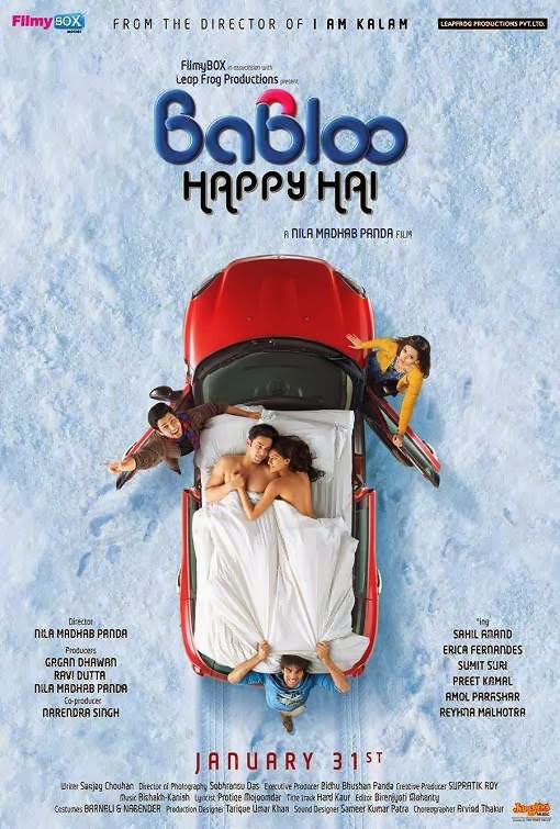 Cover of Babloo Happy Hai (2014) Hindi Movie Mp3 Songs Free Download Listen Online at Alldownloads4u.Com