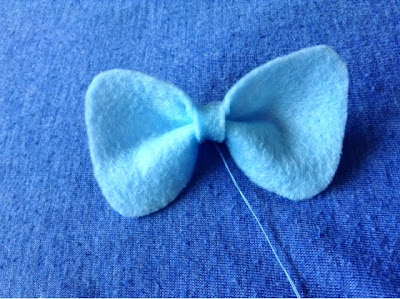 DIY Sailor Mercuery Bow