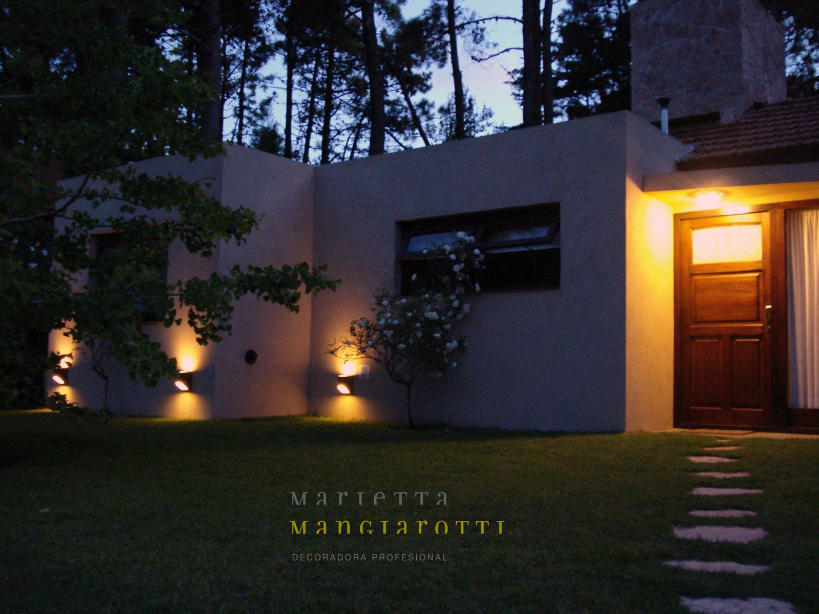 Iluminaci n exterior caril argentina marietta - Iluminacion de exterior ...