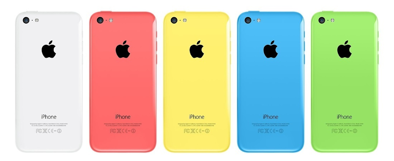 iPhone 5C color variants