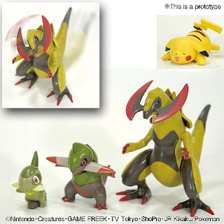 Pokemon Plamo Collection Haxorus Evolution Set Bandai