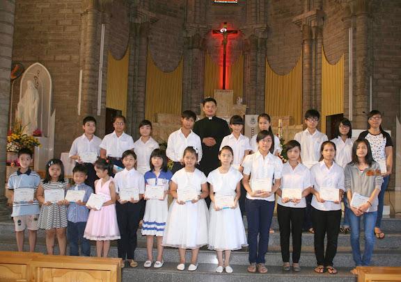 Thánh lễ tạ ơn và kết thúc năm học giáo lý (2013 - 2014) tại Giáo xứ Chánh Tòa – Giáo phận Nha Trang.