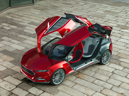 ford ford evos hybird ev electric vehicle concepts cars cars & Ford Evos: A Cloud-Connected Hybrid EV Of The Future [Concept ... markmcfarlin.com