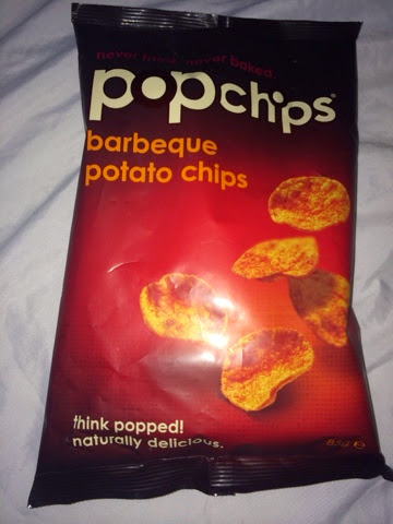 bag of BBQ Popchips