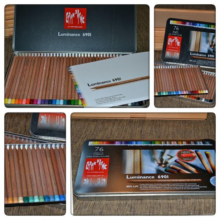 Caran D'Ache : Luminance Colour Pencils   Jackson's Art ...