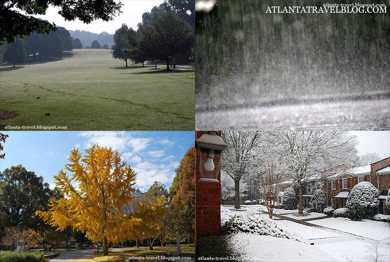Какая погода в Атланте