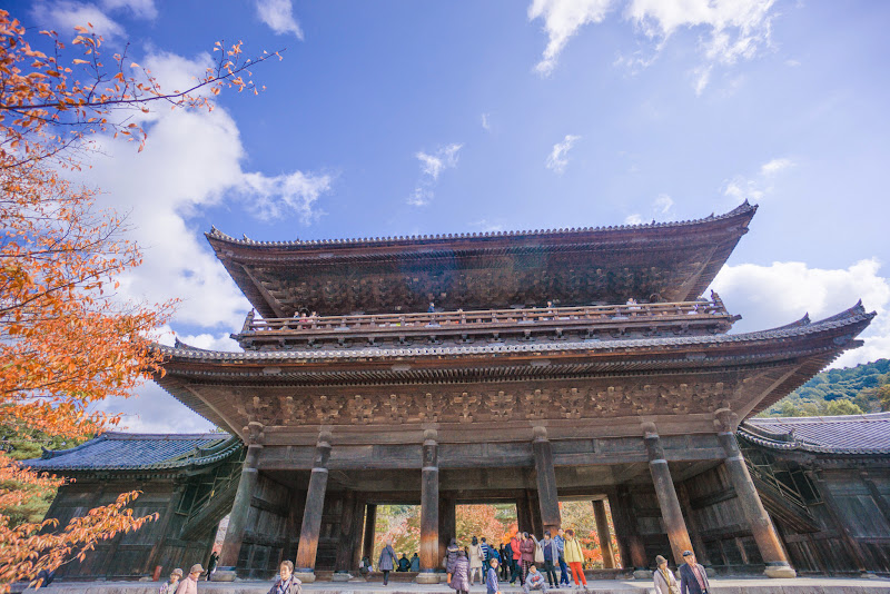 京都 南禅寺 紅葉 写真3