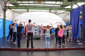 Workshop im Theater im Depot