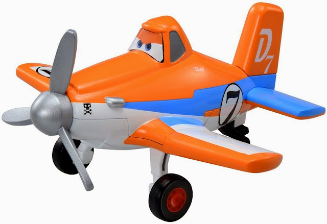 Mô hình máy bay Dusty thật đẹp mắt đáng yêu