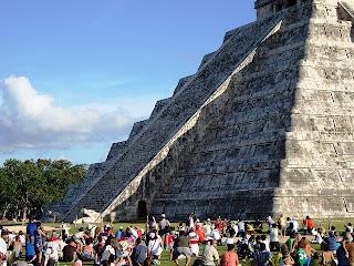 Schlangen Phänomen von Chichén Itzá